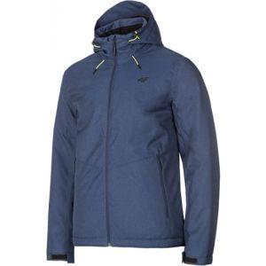 4F MEN´S SKI JACKET modrá L - Pánská lyžařská bunda