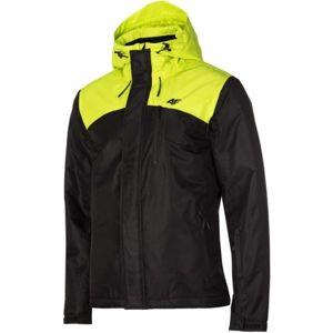 4F MAN´S SKI JACKET zelená S - Pánská lyžařská bunda