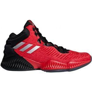 adidas MAD BOUNCE 2018 červená 12 - Pánská basketbalová obuv