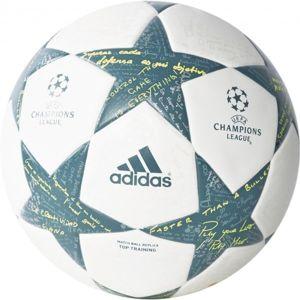 adidas FINALE16TTRAIN bílá 5 - Fotbalový míč