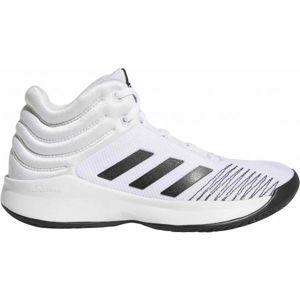 adidas PRO SPARK 2018 K bílá 4.5 - Dětská basketbalová obuv