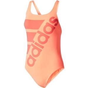adidas INF+SOLID ONE PIECE růžová 38 - Dámské plavky