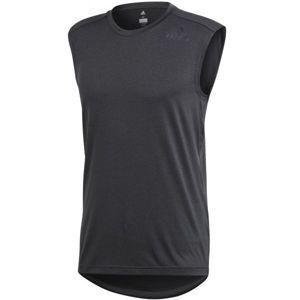 adidas CLIMAC SL tmavě šedá XXL - Pánské triko bez rukávů