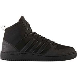 adidas CF HOOPS MID WTR černá 7.5 - Pánská lifestyle obuv