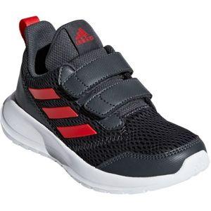 adidas ALTARUN CF K tmavě šedá 37 1/3 - Dětská sportovní obuv