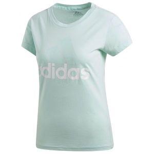 adidas ESS LI SLI TEE modrá XL - Dámské triko