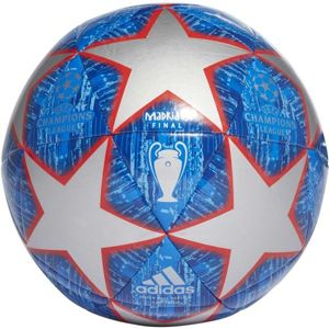 adidas UCL FINALE MADRID CAPITANO modrá 5 - Fotbalový míč