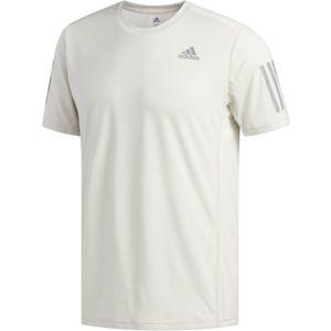 adidas OWN THE RUN TEE bílá M - Pánské běžecké triko