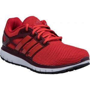 adidas ENERGY CLOUD M červená 8.5 - Pánská běžecká obuv