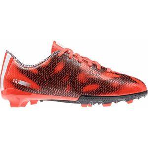 adidas F10 FG J červená 5 - Dětské kopačky