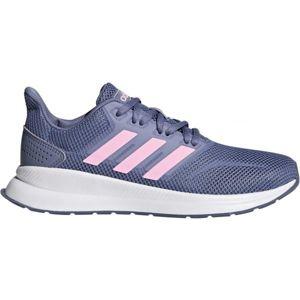 adidas FALCON K fialová 33 - Dětská běžecká obuv