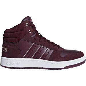 adidas HOOPS 2.0 MID šedá 7.5 - Pánská volnočasová obuv