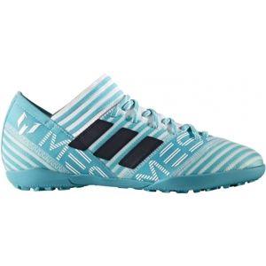 adidas NEMEZIZ MESSI TANGO 17.3 TF J bílá 32 - Dětská fotbalová obuv