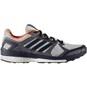 adidas SUPERNOVA SEQUENCE 9 M šedá 8 - Pánská běžecká obuv