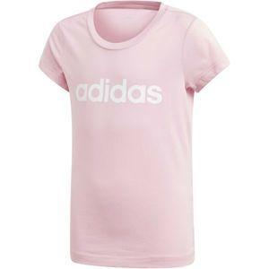 adidas YG E LIN TEE - Dívčí triko