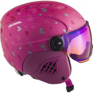 Alpina Sports CARAT LE VISOR HM - Dětská lyžařská helma