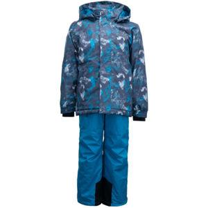 ALPINE PRO BORO  140-146 - Dětský lyžařský set