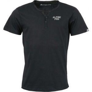 ALPINE PRO DARNELL 2 černá L - Pánské triko