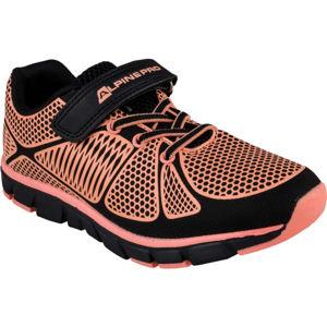 ALPINE PRO FISCHERO oranžová 34 - Dětské volnočasové boty