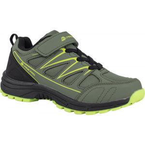 ALPINE PRO AVIORE zelená 30 - Dětská outdoorová obuv