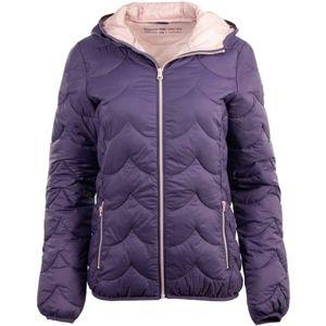 ALPINE PRO OLIVIA fialová M - Dámská bunda