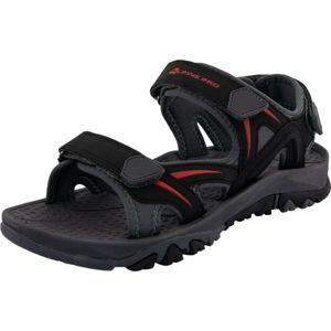 ALPINE PRO MAET černá 41 - Pánská letní obuv
