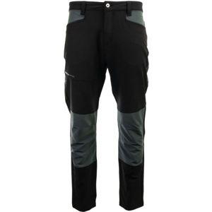 ALPINE PRO LEIK černá 48 - Pánské outdoorové kalhoty