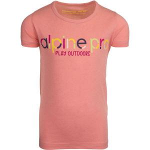 ALPINE PRO RAJESHO  104-110 - Dívčí triko