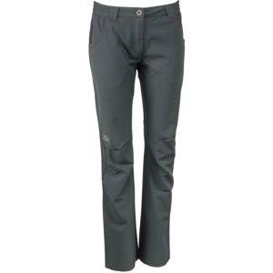 ALPINE PRO RASUA šedá 40 - Dámské softshellové kalhoty