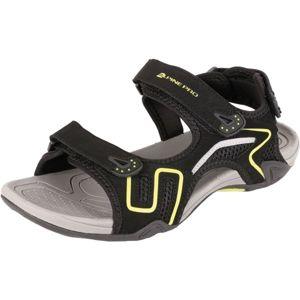 ALPINE PRO ZIGAN černá 44 - Pánská letní obuv