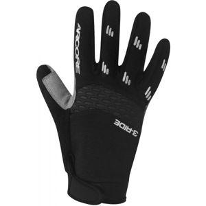 Arcore 3-RIDE černá S - Cyklistické rukavice