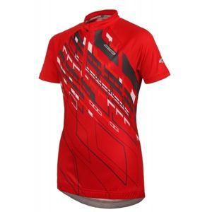 Arcore DAREN 140-170 červená 140/146 - Chlapecký cyklistický dres