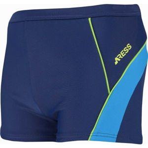 Aress HARVIE tmavě modrá 128-134 - Chlapecké plavky s nohavičkami