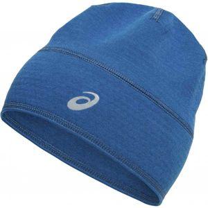 Asics THERMAL BEANIE modrá  - Zimní sportovní čepice