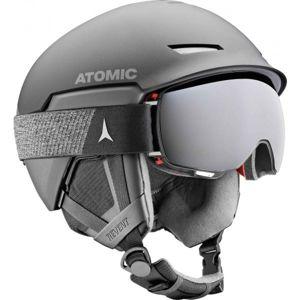 Atomic REVENT AMID černá (55 - 59) - Lyžařská helma