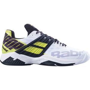 Babolat PROPULSE FURY M ALL COURT bílá 11 - Pánská tenisová obuv