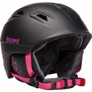 Blizzard VIVA DEMON černá (56 - 59) - Dámská lyžařská helma