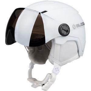 Blizzard VIVA DOUBLE VISOR SKI HELMET bílá (56 - 59) - Lyžařská helma