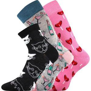 Boma N03067 S-PATTE šedá 35 - 38 - Dámské ponožky