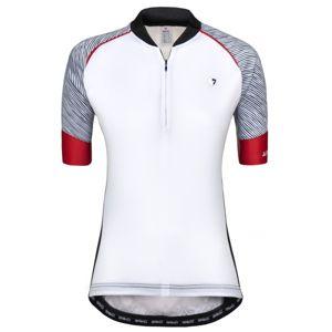 Briko ZAMPILLO PRO LADY bílá M - Dámský cyklistický dres