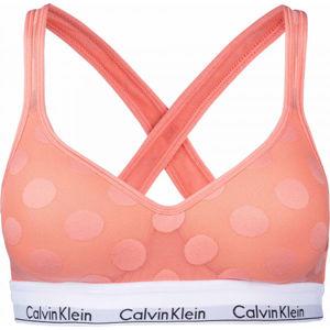 Calvin Klein LGHT LINED BRALETTE  L - Dámská podprsenka