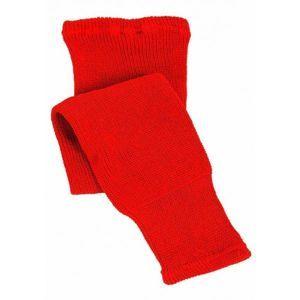 CCM 100 KNIT SOCK JR 20 červená NS - Dětské hokejové pletené stulpny