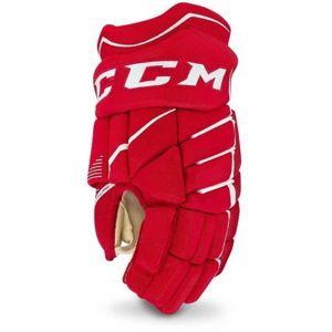 CCM JETSPEED 370 JR červená 12 - Dětské hokejové rukavice