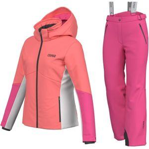 Colmar JR.GIRL 2-PC-SUIT růžová 14 - Dívčí lyžařský set