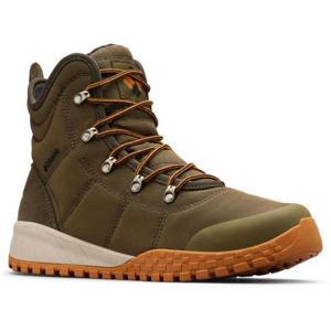 Columbia FAIRBANKS OMNI-HEAT zelená 7.5 - Pánská zimní obuv