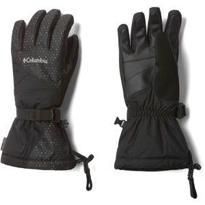 Columbia W WHIRLOBIRD GLOVE černá S - Dámské zimní rukavice
