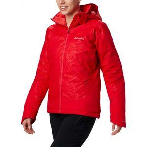 Columbia VELOCA VIXEN JACKET červená XS - Dámská zimní bunda