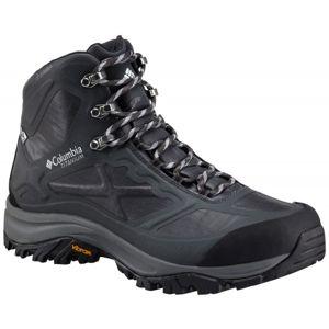 Columbia TERREBONNE OUTDRY černá 10.5 - Pánská treková obuv