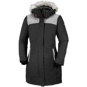 Columbia LINDORES JACKET černá XS - Dámský zimní kabát