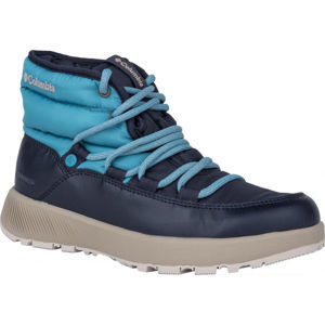 Columbia SLOPESIDE VILLAGE modrá 5.5 - Dámské zimní boty